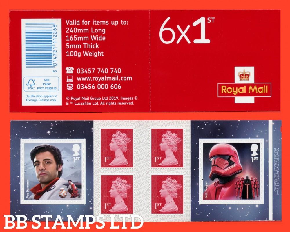 2019 6 x 1st. Star Wars(Poe Dameron and Sith Trooper)  Plus 4 Machin (M19L-MCIL) 26.11.19