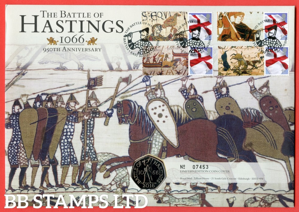 2016 950th Anniversary of The Battle of Hastings £2 Coin Cover. SG. EN5