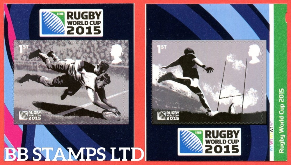 2015 2 x 1st Rugby World Cup 2015 S/A (PM49)