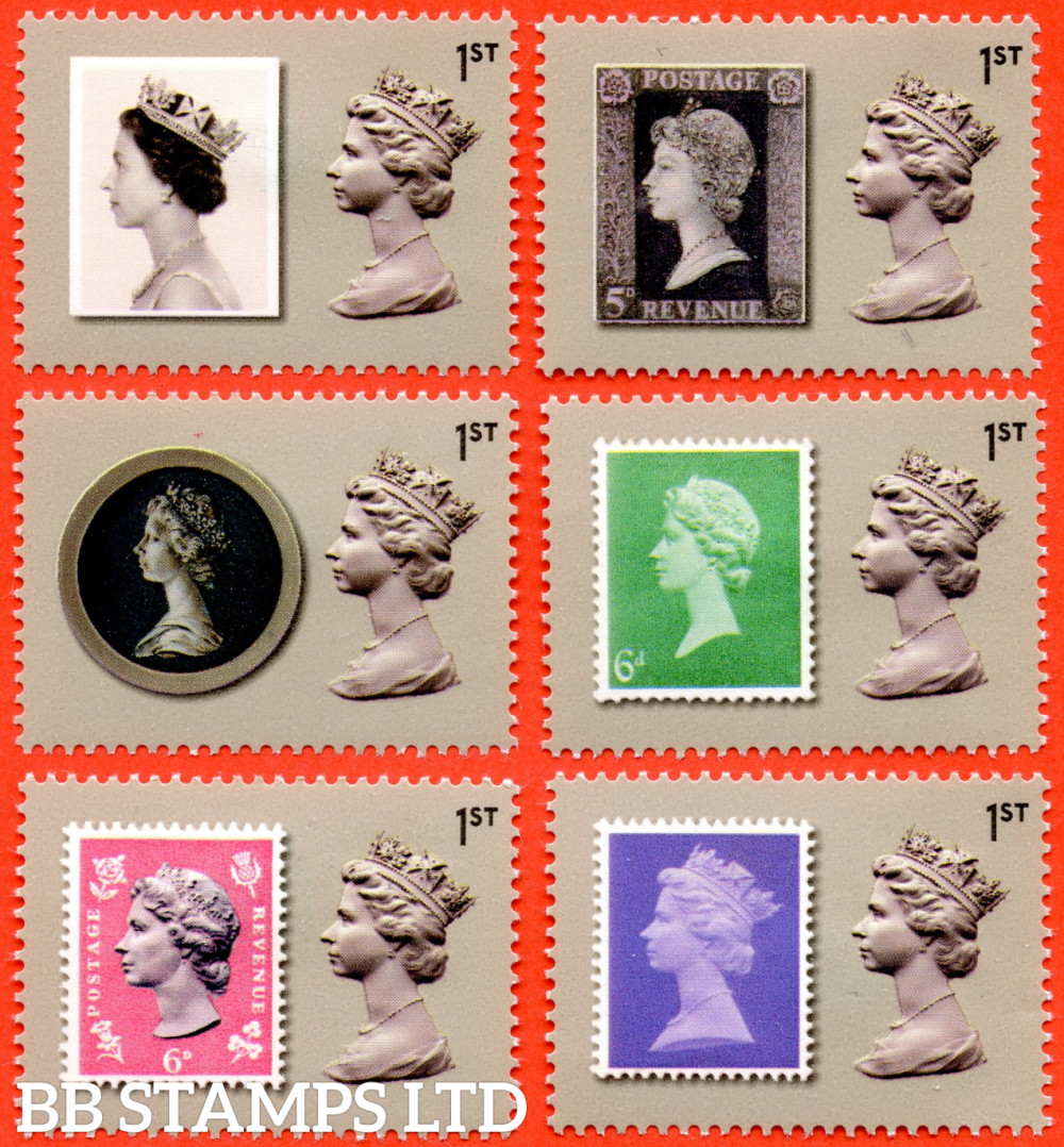 Machin Anniversary 2nd Issue Commemorative Stamps with Labels - Walsall  ISP gummed