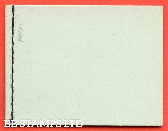 SG. BD3 a. 6d pale green cover. 4 x ½d 4 x 1d. SG. 462a / 463a. A very fine complete booklet.