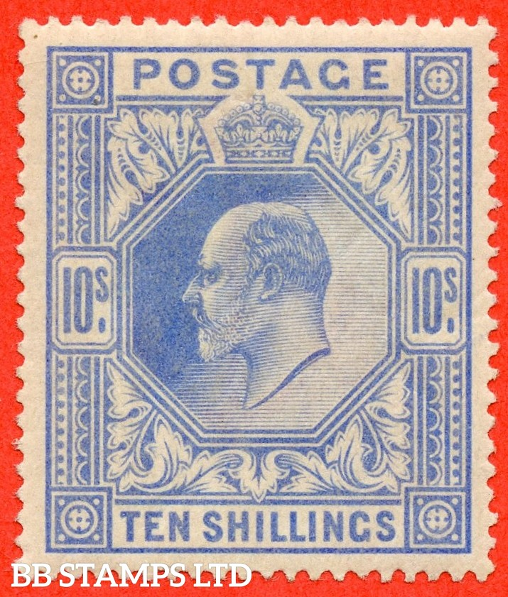SG. 265. M53 (1) 10/- Ultramarine. A fine UNMOUNTED MINT example.