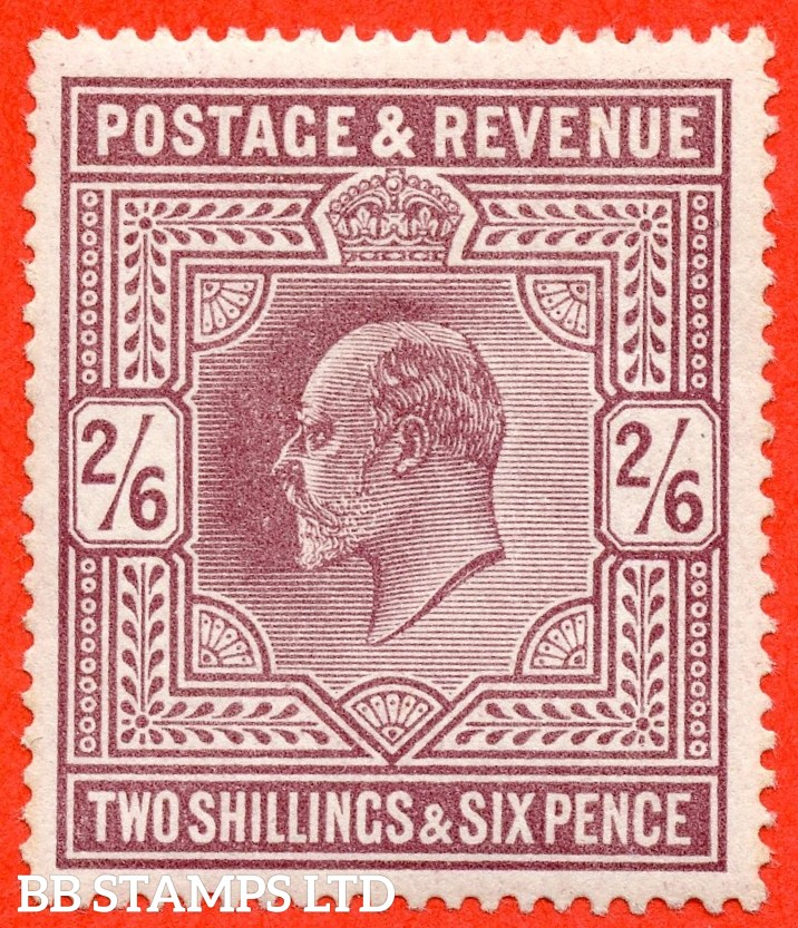 SG. 316. Variety M50 ( 4 ) 2/6d Pale Dull Reddish Purple. A fine UNMOUNTED MINT example.