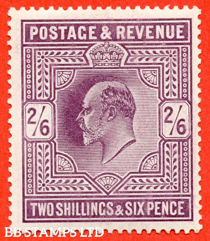 SG. 262 M49 ( 2 ). 2/6d Dull Purple © . A very fine UNMOUNTED MINT example.