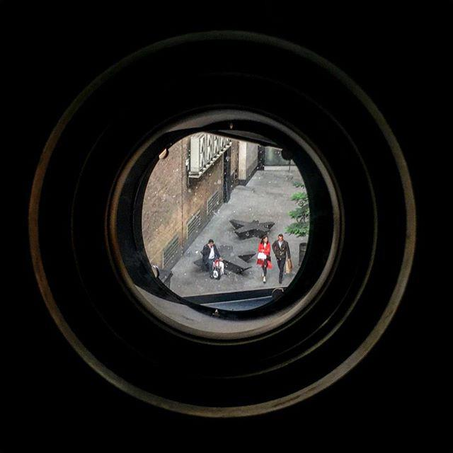 London life through a camera obscura.