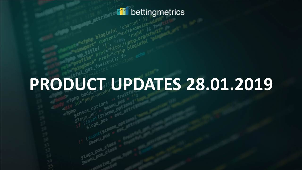 Track automatically your bets from BM odds comparison and market place, improved analytical section - 28.01.19