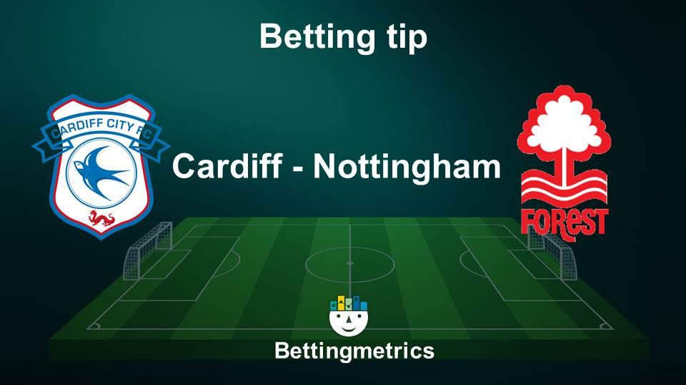Bettingmetrics expert tips on the English championship game between Cardiff v Nottingham Forest