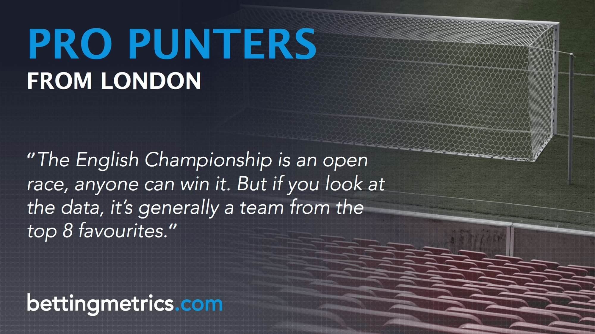 Bettingmetrics bet tracking software interviews professional punters