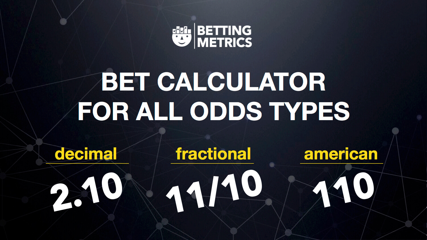 How different bet calculators can help punters