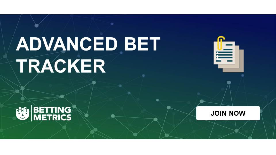 Bet tracker - bettingmetrics 14