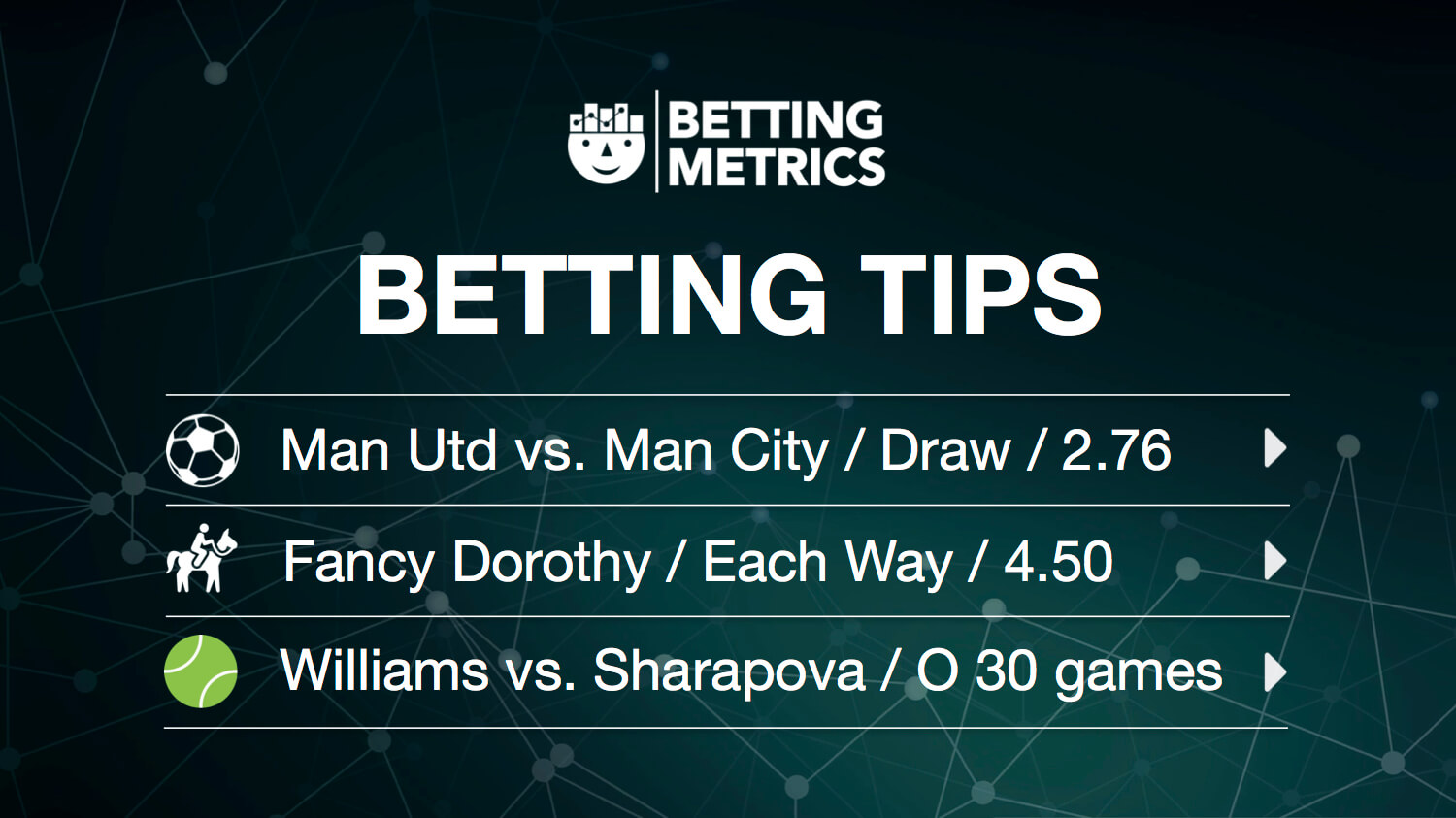 Betting tips 1