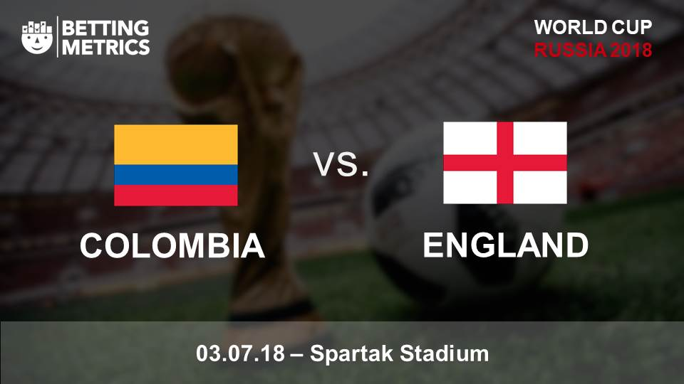 Bettingmetrics betting previews Colombia v England cup game