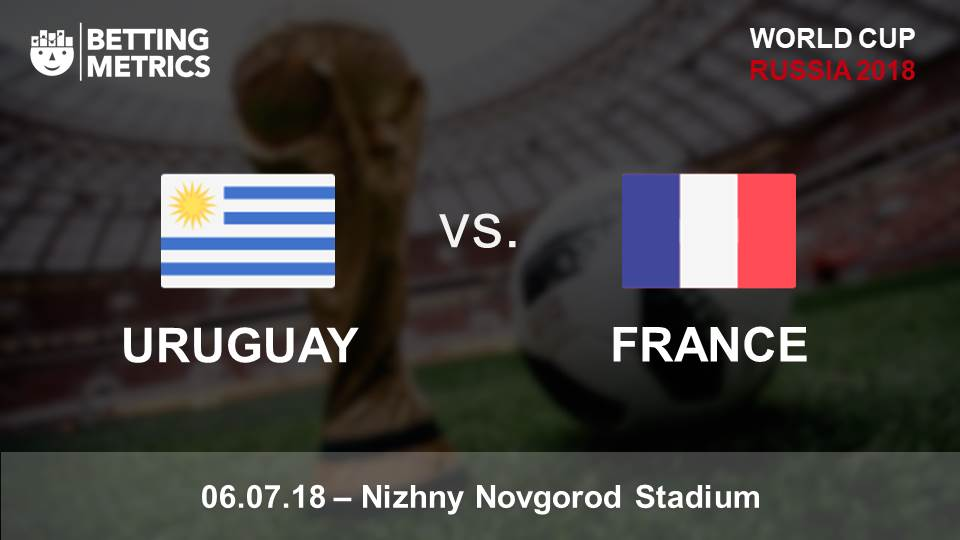 Bettingmetrics betting previews Uruguay v France cup game