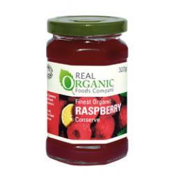 Raspberry organic luxury conserve