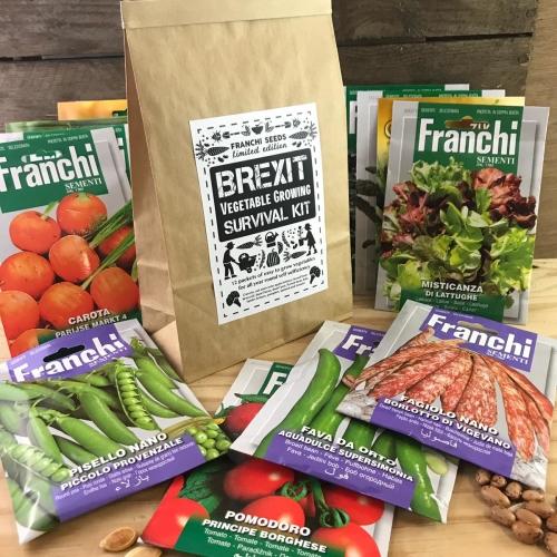 Brexit Vegetable growing survival Kit