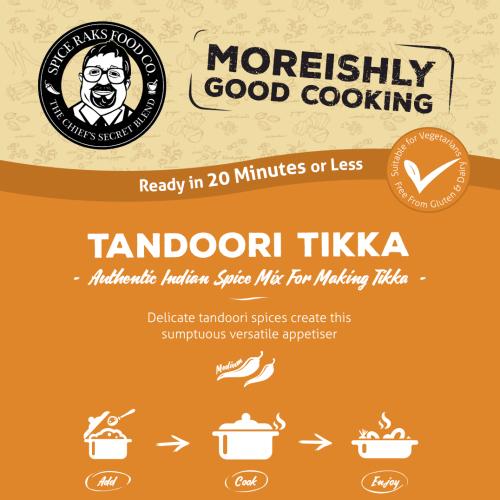 Chief's Tandoori Tikka Mix - Authentic 100% Good Taste!