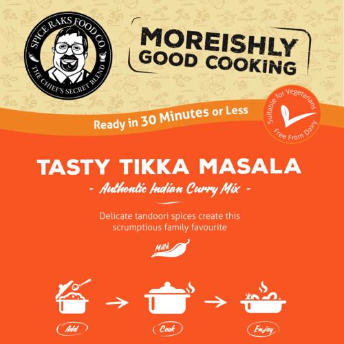 Chief's Tasty Tikka Masala Curry Sauce Kit ( Dry Mix )