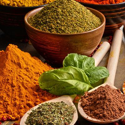 Salts, seasonings & flavourings