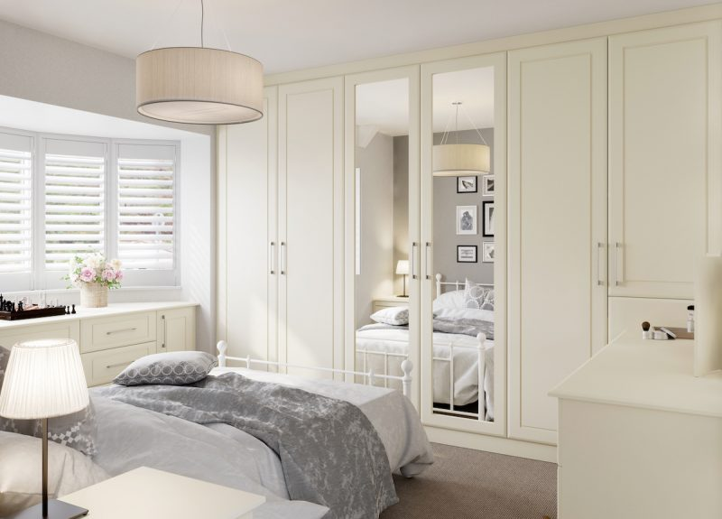 Bergen Mirrored Wardrobes - Birch Bedrooms