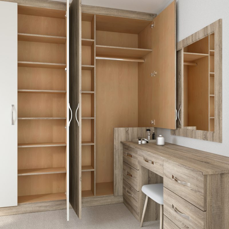 Lisbon Fitted Bedroom Furniture - Birch Bedrooms