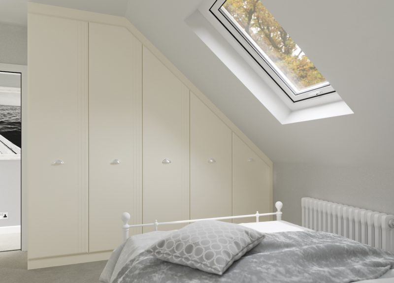 Awkward Room Fitted Wardrobes - Birch Bedrooms
