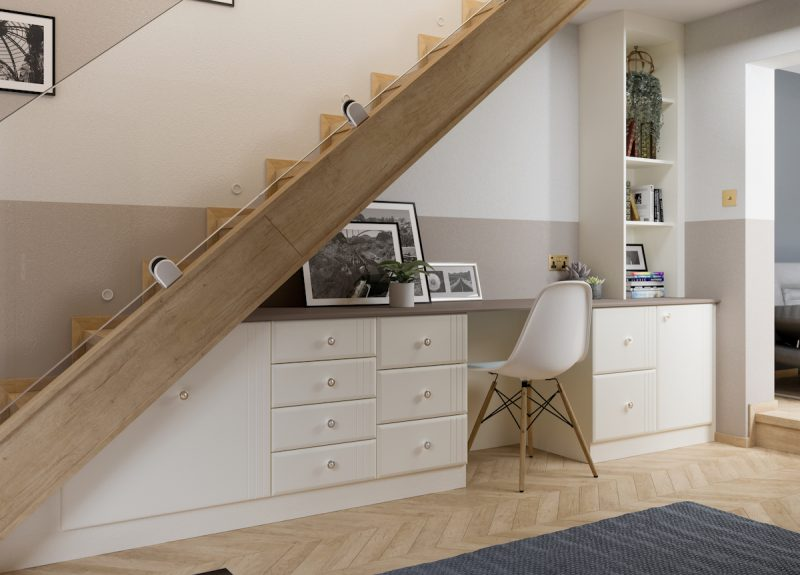 Rome Fitted Home Office Furniture - Birch Bedrooms