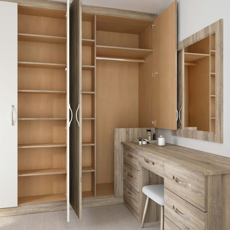 Bespoke Vanity Unit - Birch Bedrooms