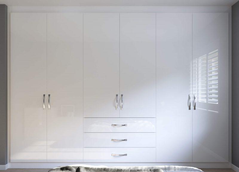 Lisbon Cupboards - Birch Bedrooms