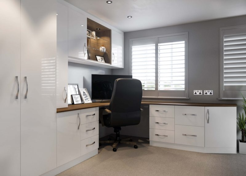 Lisbon Corner Office - Birch Bedrooms
