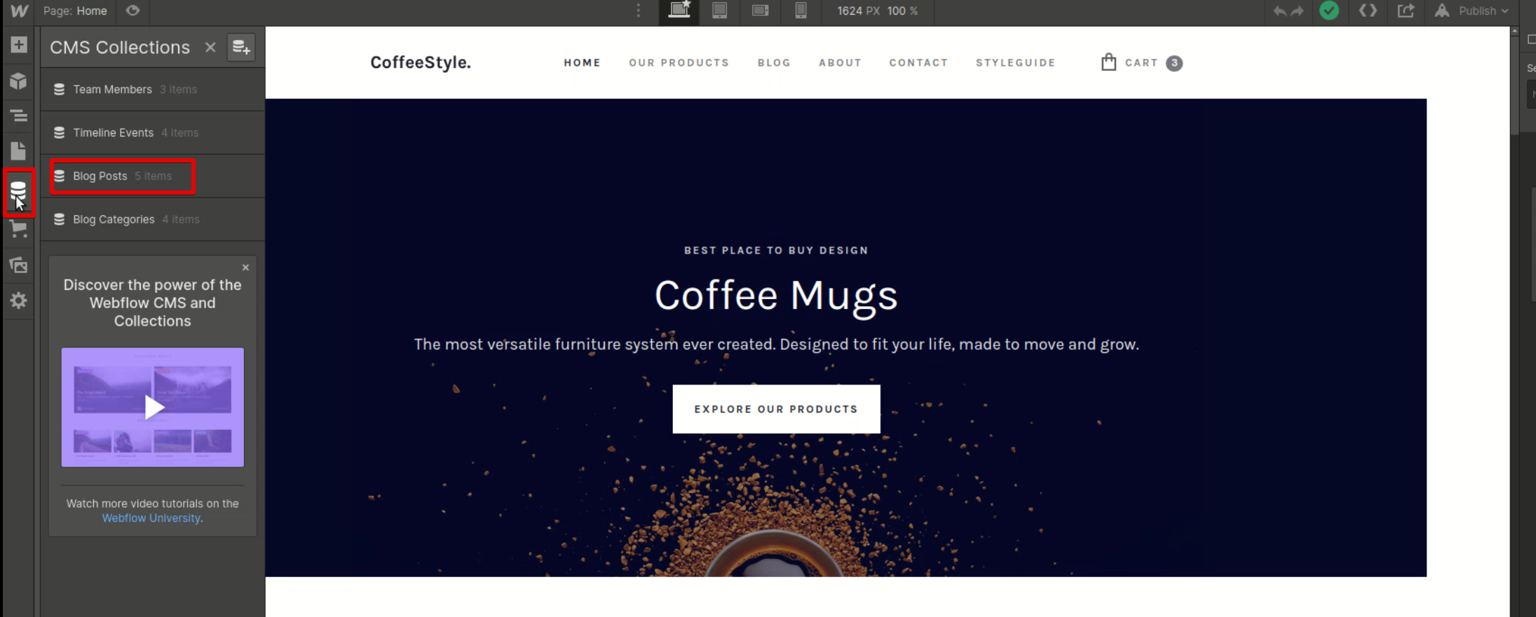 Migration of websites