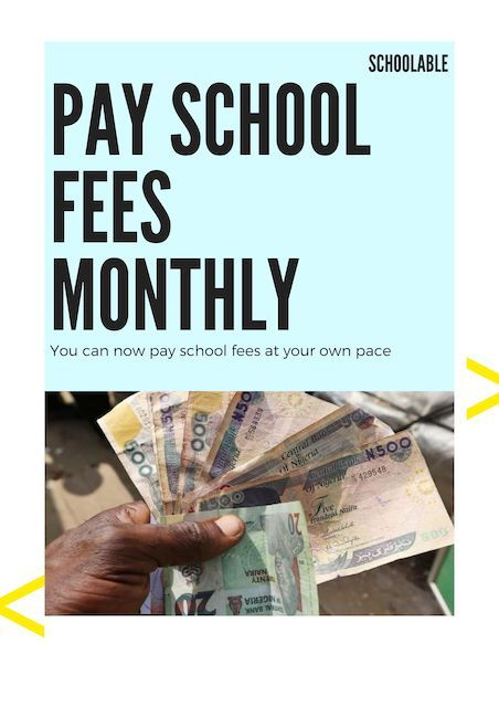 Schoolable's Pay School Fees Monthly Service - Like Paying Your Electricity Bill