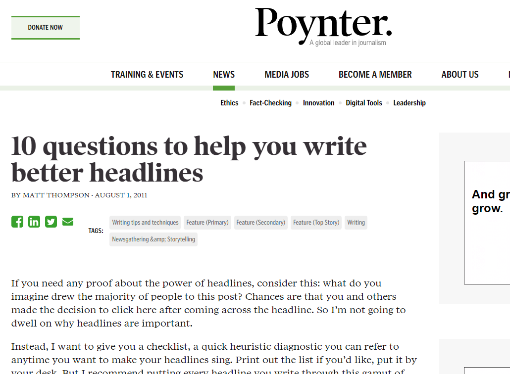 Answer These Questions to Help You Write Better Headlines