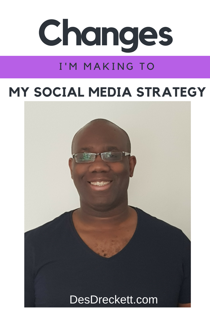 Changes I'm Making To My Social Media Strategy