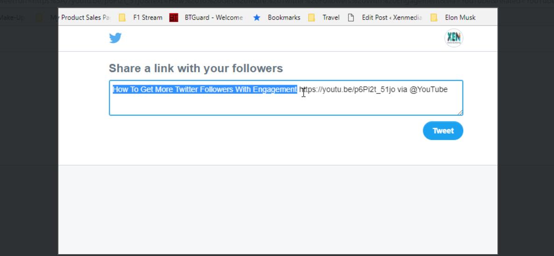 New Twitter compose tweet box