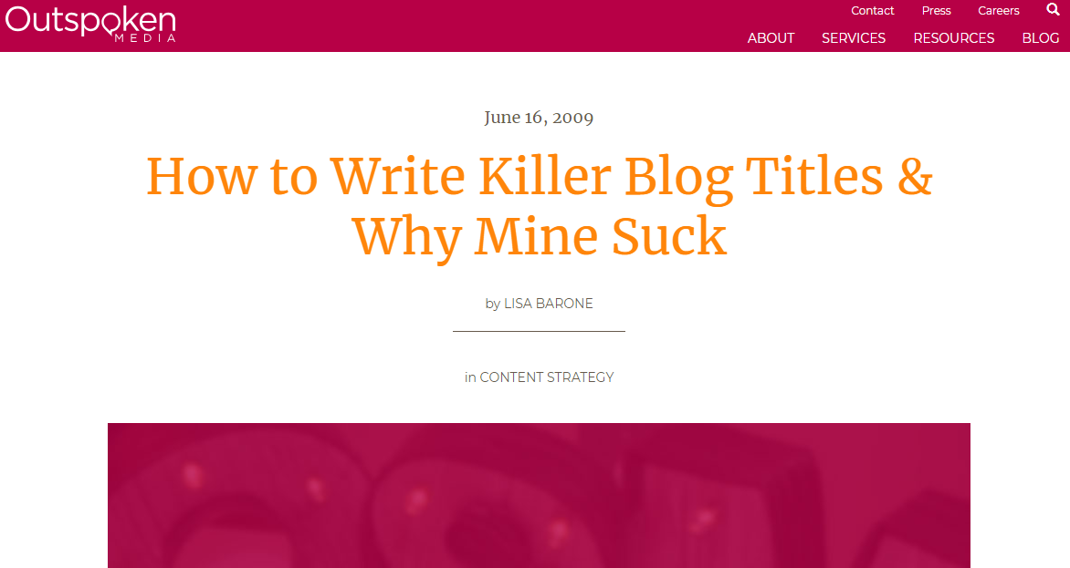 Simple ways to make your blog titles better