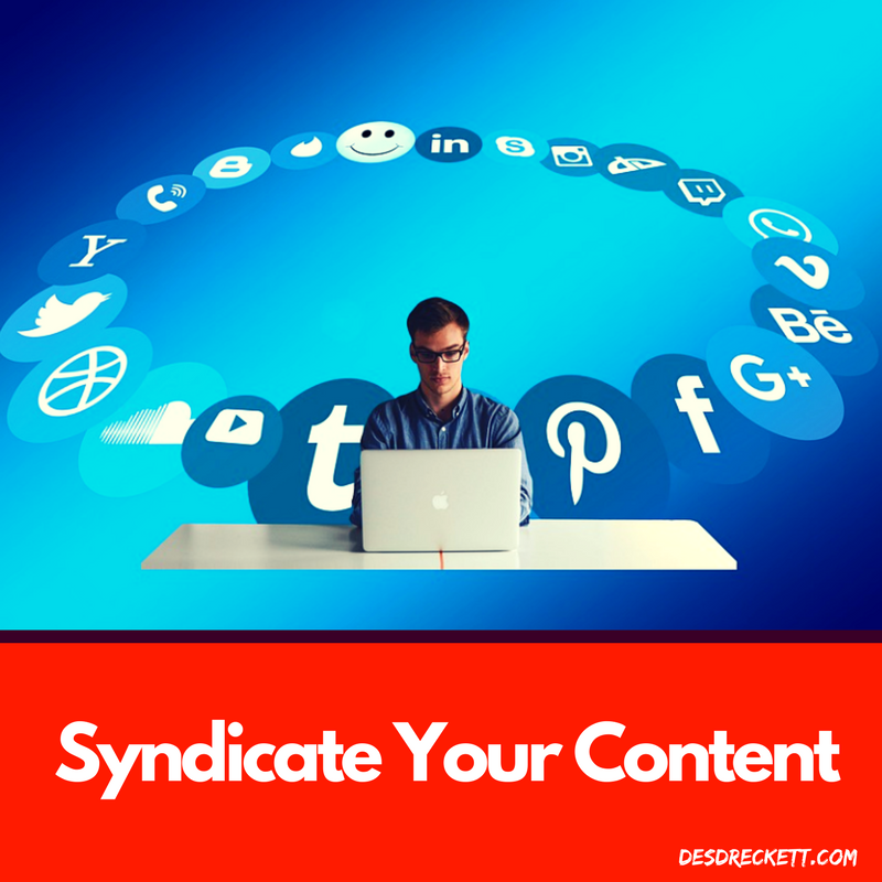 Syndicate your content