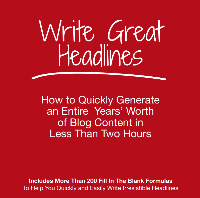 The 12 Most Successful Types of Irresistible Headlines [PDF]