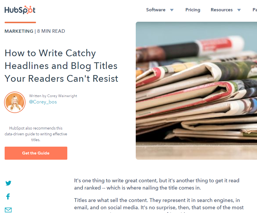 Write Catchy Headlines Your Readers Can't Resist