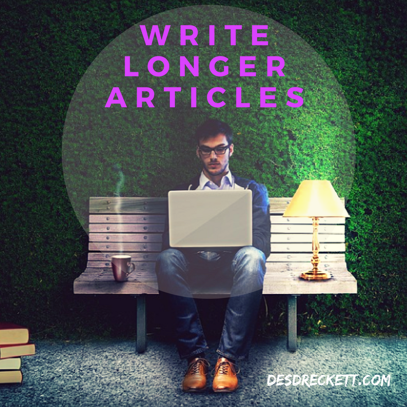 Write Longer Articles