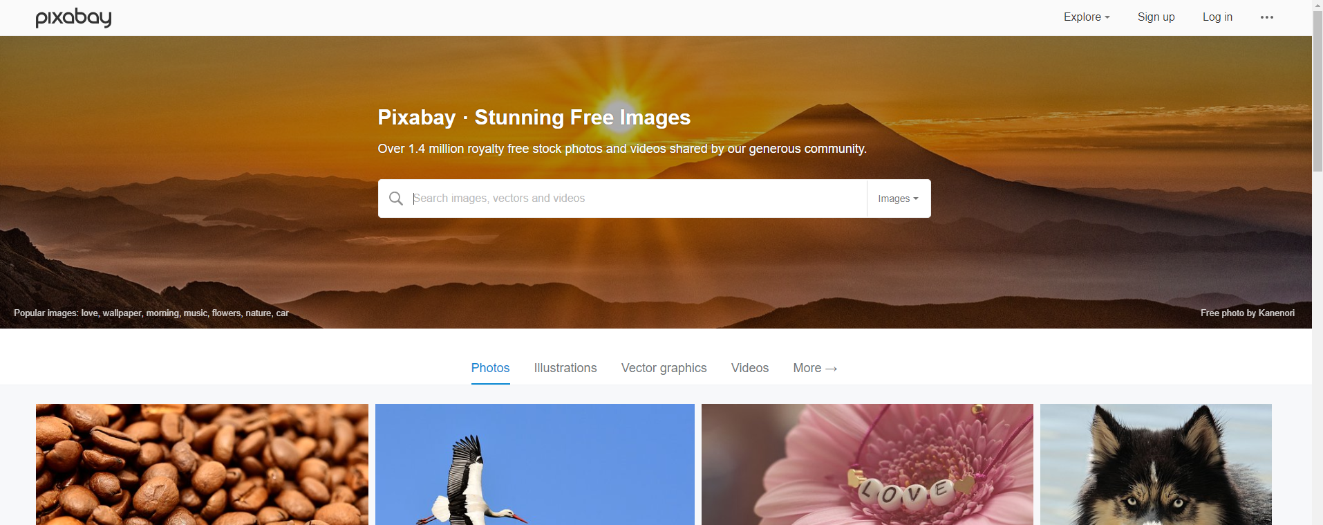 use Pixabay or pexels for images in your blog posts