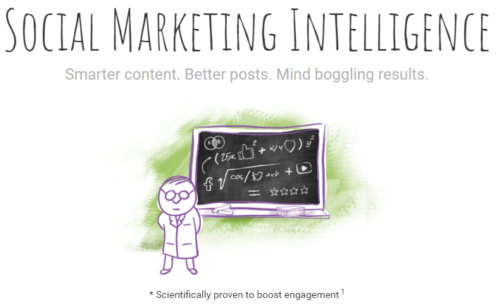 makes it easy for you to find and share some great content consistently