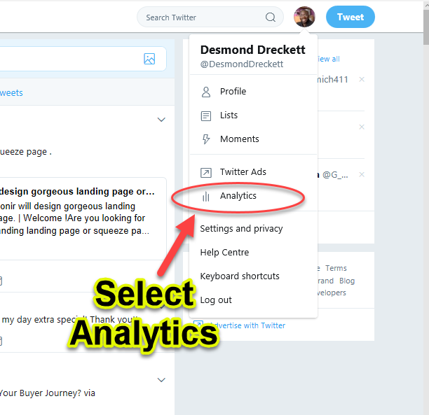 twitter+anaylitics-select analytics