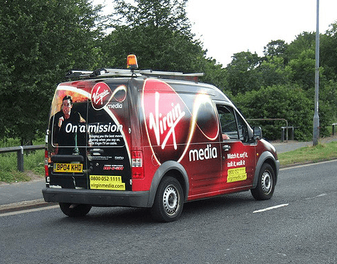 use your van to advertise your brand