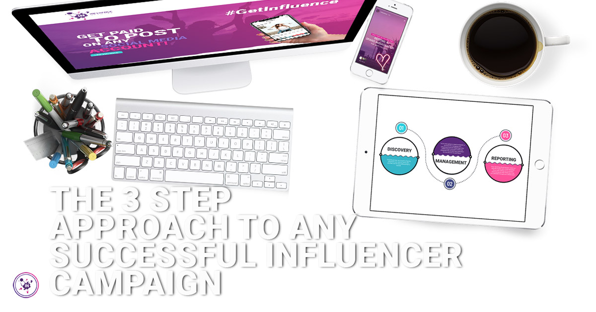 The 3 Step Approach To Any Successful Influencer Campaign