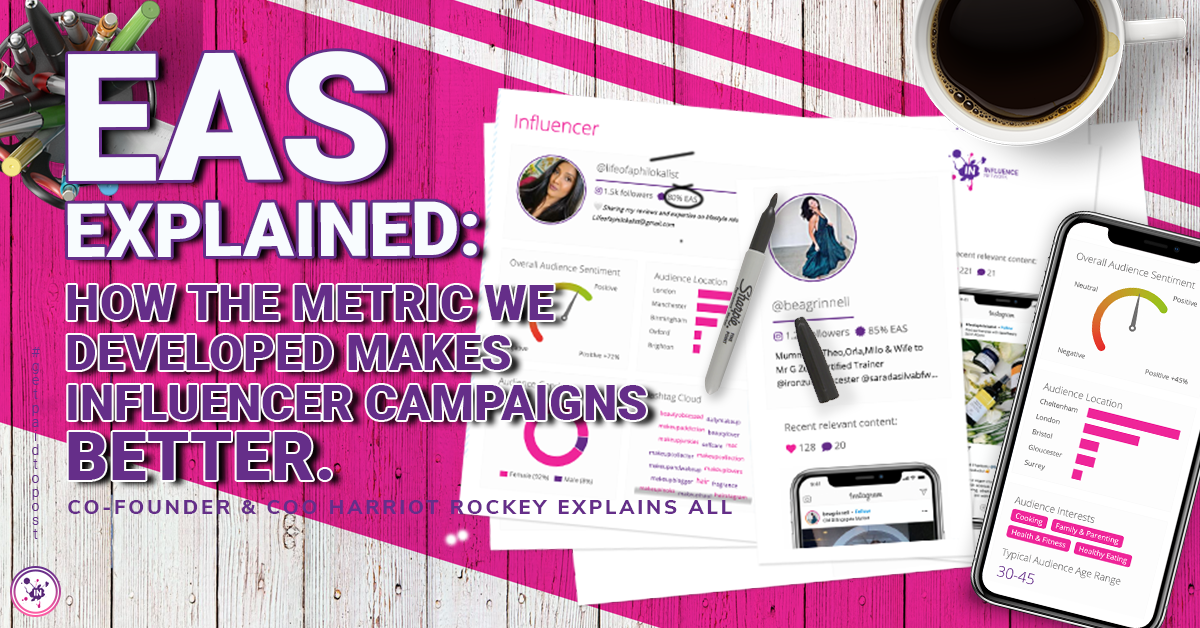 EAS explained: how the metric we developed solves a key influencer marketing challenge