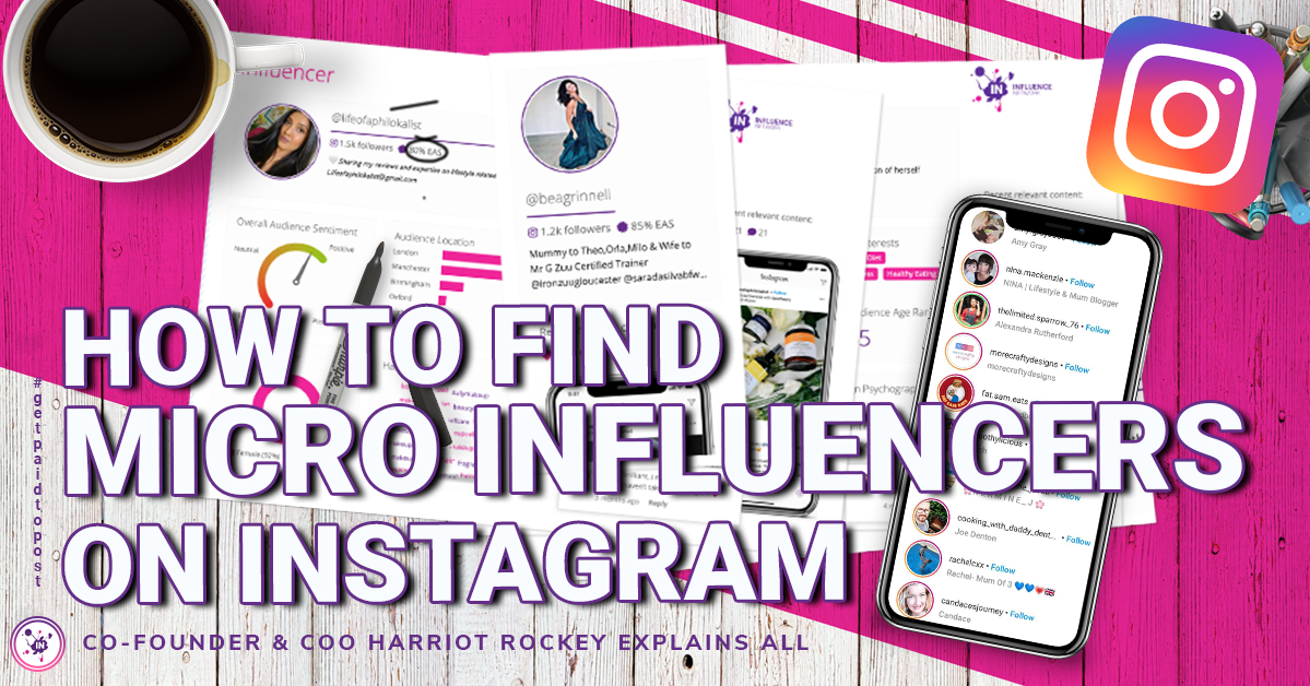 How to find micro influencers on Instagram