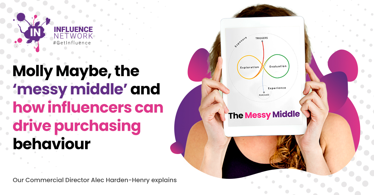Molly Maybe, the 'messy middle' and how influencers can drive purchasing behaviour