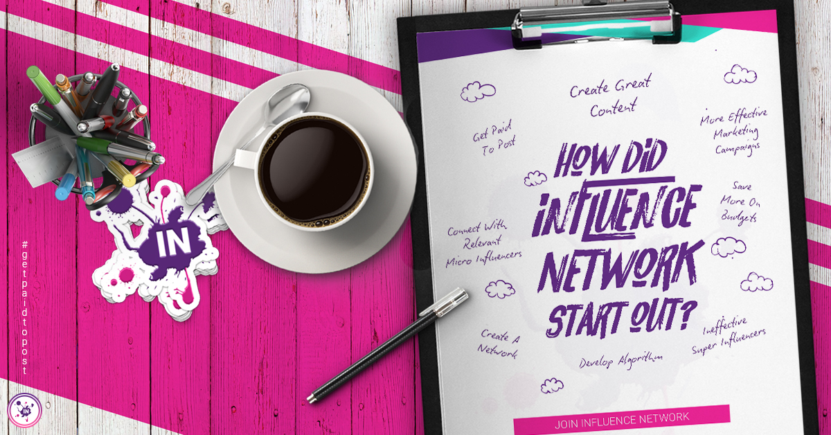 How did Influence Network start off