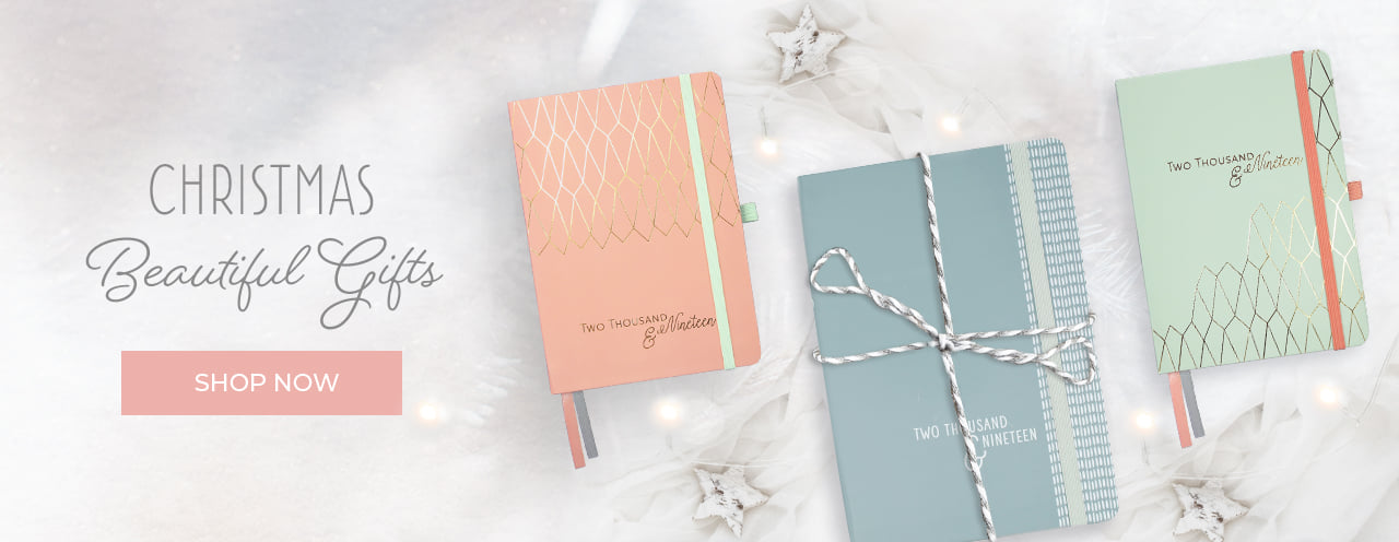 Diaries, calendars, planners and other stationery gifts for stationery fans everywhere