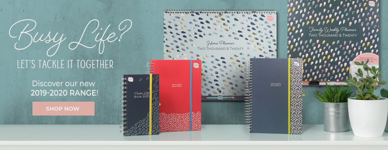 2020 family diary, calendar and organisers from Boxclever Press